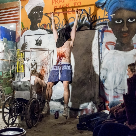Matka Courage krzyczy, fot. Łukasz Giza