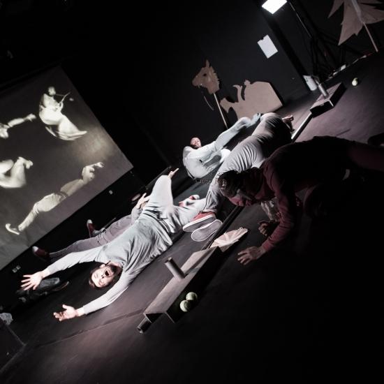 Obcy z Mons, fot. Archiwum Teatru Ad Spectatores