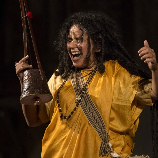 Parvathy Baul, koncert, photo Francesco Galli