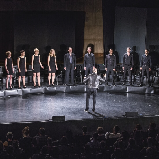 Teatr Pieśń Kozła, fot. Mateusz Bral