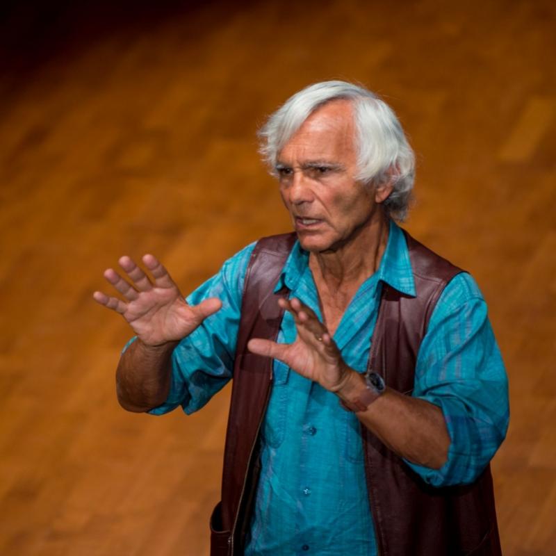 Eugenio Barba, fot. Maciej Zakrzewski