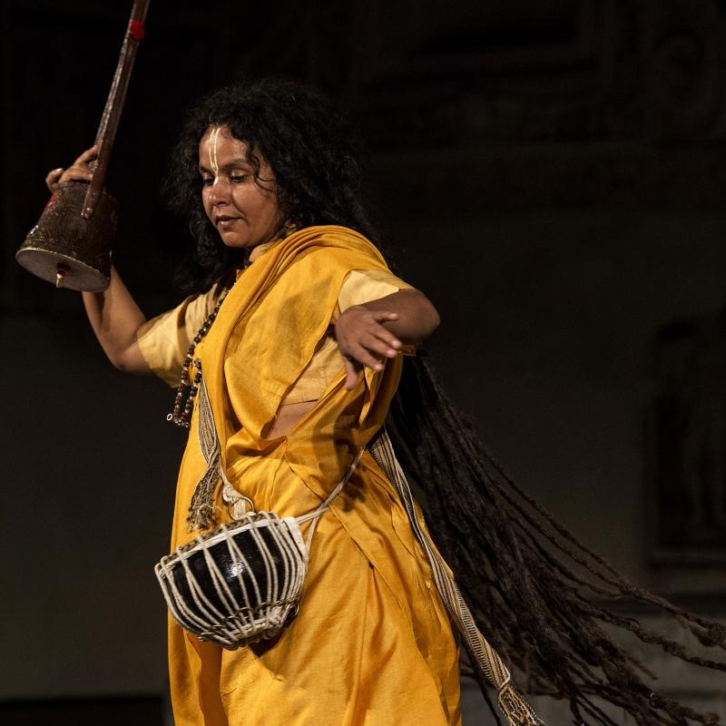 Parvathy Baul, koncert, fot. Francesco Galli